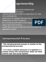 Lecture PPT Intrapreneurship
