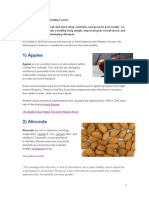 Examples of Nutritions Food
