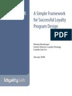Loyalty Program Design