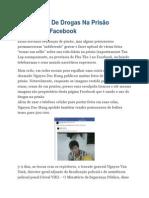 Presos Uso de Drogas Na Prisão Pública No Facebook