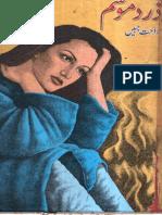 Zard Mausam by Rahat Jabeen-urduinpage.com