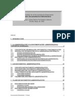 Dcoumentacion Administrativa Manual