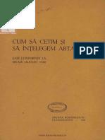 Cum Să Cetim Şi Să Înţelegem Arta - Şase Conferinţe La Sinaia (August 1930) - N. Iorga