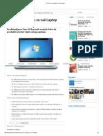 10 Korisnih Savjeta Za Vaš Laptop