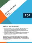 Antiinflammatory Drug REportvic