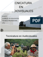 Tecnicatura Audiovisual 2013