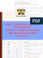 OCCUPATIONAL HEALTH AND SAFETY POLICY GUIDELINES FOR THE HEALTH SECTOR IN KENYA.pdf