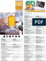 Craft Beer Style Guide