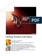 Manual Maya 3D parte 1 em português!