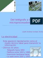 Del telégrafo a los microprocesadores