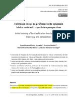 Texto Formacao Inicial de Professores Da Educacao