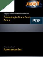 Comunicaooraleescrita Aula1 130619152812 Phpapp01