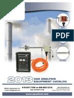 Gas Analysis 2013 Catalog 9-8-13 NP