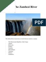 Travel The Zambezi River