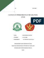 GANGGUAN PERKEMBANGAN BICARA PADA ANAK.docx