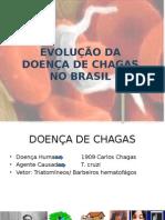 Evolução Doença de Chagas Brasil