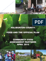 food and offical plan report  final for distribution
