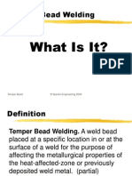 The Alternative to PWHT Temper Bead Welding by Walter J Sperko