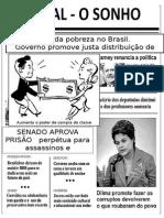 Atividade Jornal Do Sonho