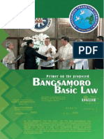 Primer on the Proposed Bangsamoro Basic Law