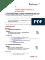PeopleSoft Application Developer 1 Certification Study Guide - 1Z0-241