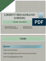 ValueX Vail LBRDK Presentation June 2015