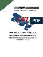 CONVOCATORIA CAS1
