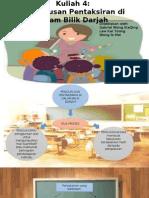 Kuliah 4 Peranan Guru Dalam Pengurusan Bilik Darjah