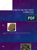 5 facts on the first computer