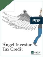 Angel Investor Tax Credit Primer