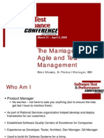 Marriage of Agile and Test Management