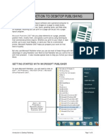 1 Introduction to Desktop Publishing