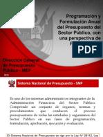 Presentacion Programacion Multianual 2016 2018