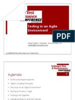Testing in an Agile Environment