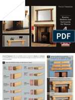 Focus Beams Shelves Brochure | Firecrest Stoves