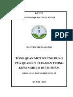 Tổng quan một số ứng dụng của quang phổ Raman trong kiểm nghiệm dược phẩm.pdf