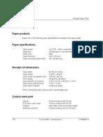 Wincor TP06 Printer Ticket