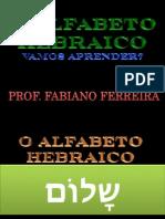 Alfabeto Hebraico em Slides