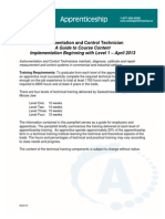 A Guide to Course Content Implementation Beginning With Level 1 April 20131
