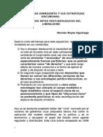 Las Derechas Emergentes y Sus Estrategias Discursivas Final