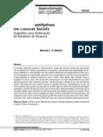 Metodos Quantitativos Em Ciencias Sociais