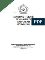 1. Draf Penilaian & Model Rapor MI Bogor Supri