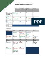Calendario 2015-2 Primera Propuesta