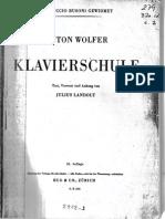 Wolfer - Metodo de Piano