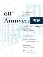 TBNC 60th Anniversary Celebration Journal