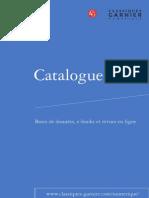 Catalogue Numerique Fr
