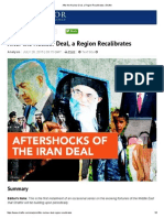After the Nuclear Deal, a Region Recalibrates _ Stratfor.pdf