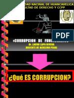 15vo. Corrupcion de Funcionarios Dogmatica