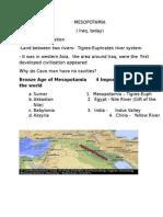 Mesopotamia (p1)