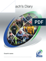 IRB Coaching Diary En